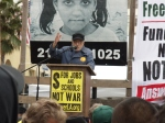 James Lafferty Speaks at March 19th, 2011 Anti-War March in LA