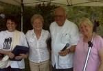 Dorothy Reik, Lila Garrett, Blase and Theresa Bonpane